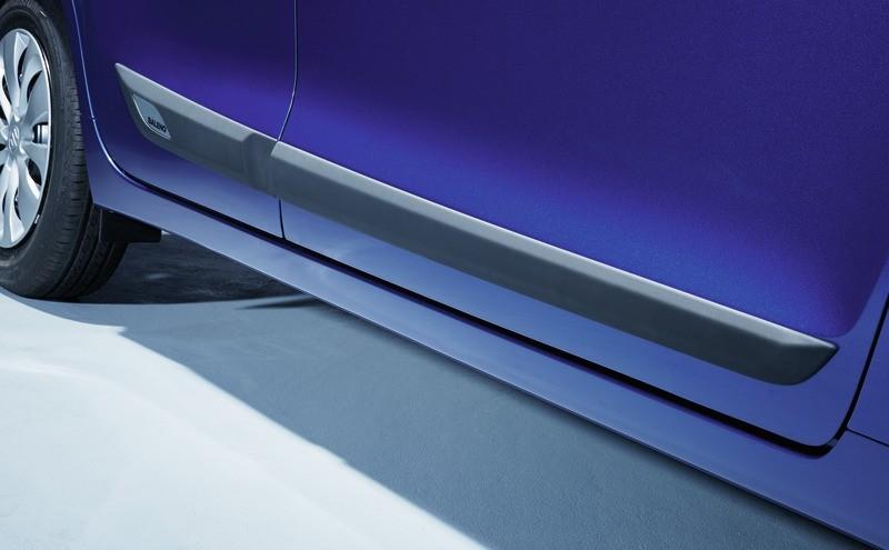 Seitenschutzleisten-Set, silber