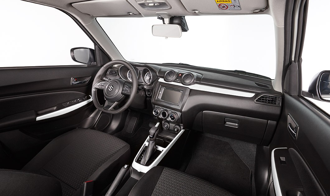 SUZUKI Zubehör Interior KIT - Individualisierung - New Swift Sport ...