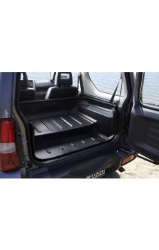Kofferraumwanne (Umklappen der Rücksitze)