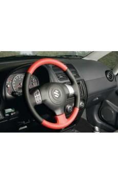 Leder-Lenkrad SX4 (rot/schwarz)