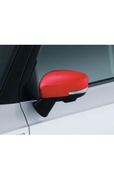 Couverture rétroviseur avec clignotant (rouge)
