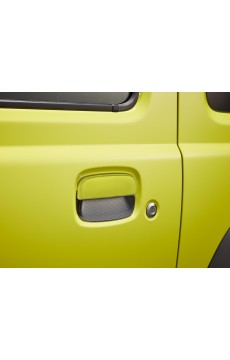 Protection de poignées de porte, trame carbone