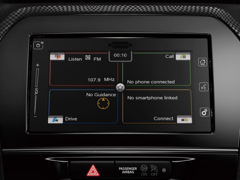 Mise à niveau navigation Compact+
