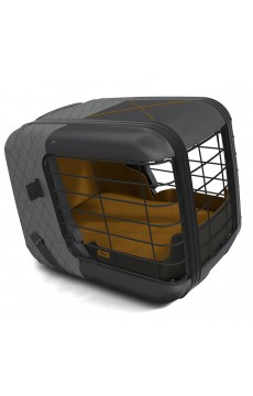 Hundebox Caree Smoked Pearl (bis zu 15 Kg)